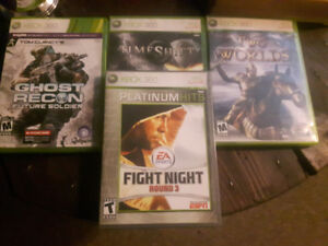 4 XBOX 360 Games For $8