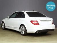 2012 MERCEDES BENZ C CLASS C220 CDI BlueEFFICIENCY AMG Sport 4dr Auto