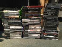 Job lot of games - PS1, PS2, PS3, Xbox, wii