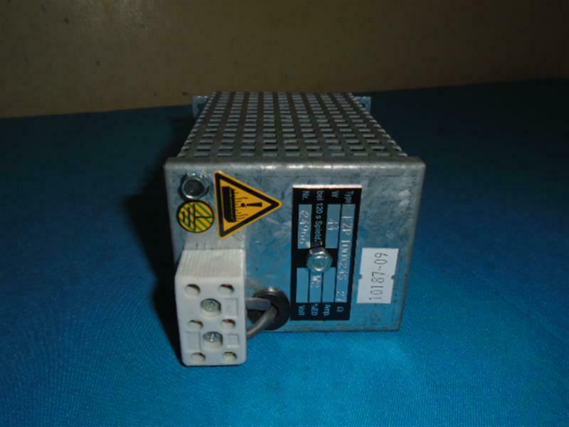 Frizlen FZP 100x24S-27 FZP100x24S27 Tubular Resistor