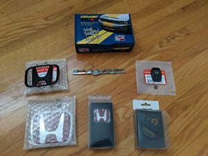 BRAND NEW RED HONDA CIVIC EMBLEM & OTHER PARTS FROM 2012 CIVIC