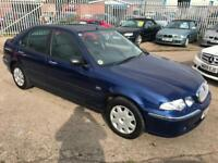 Rover 45 1.4 16v iE - 03/53 - GENUINE ONLY 23K - SEPTEMBER 18 MOT