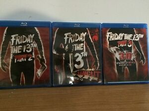 Friday the 13th Part 1 to 3 (3D) Blu-ray