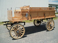 Oak trail wagon