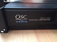 QSC RMX 1450 Power Amp (used, good condition )