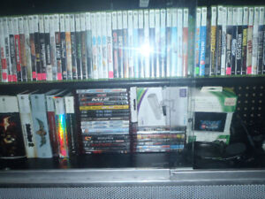 755 xbox 360 games and systems ..........for sale or trade