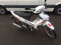 125cc 4 gears semi automatic motorbike. 2013. Moted ready 2 go £450 or swaps