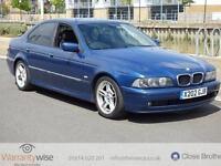 BMW 5 SERIES 530I SPORT, Blue, Auto, Petrol, 2000 MOT MARCH 2017 HISTORY