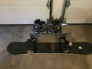 Burton Board and Bindings with DC Boots
