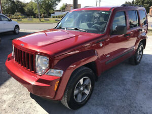 2008 Jeep Liberty Sport SUV,North Edition Only 171000 Km