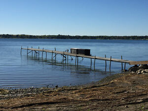 85 total feet of dock right dock for sale