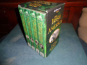 Irish In America-Long Journey Home-4 vhs box set + bonus