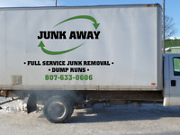 Junk Away Inc. - Full Service Junk Removal / Dump Runs