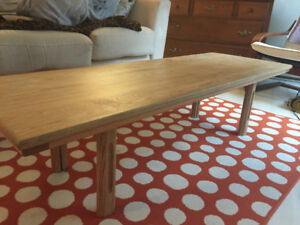Table basse / table salon bois massif