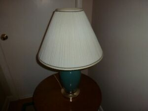 Electric Lamps with shades