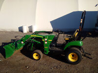 John Deere 2305 Compact Utility tractor and loader for sale