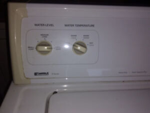 Kenmore washer and dryer set.....