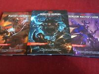 Dungeons and Dragons instruction books
