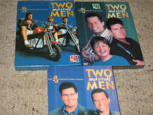Two and half men---season's 2/3/4