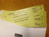 Two Tickets - Col. Chris Hadfield Oct 10th