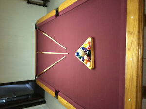 8ft Connelly Catalina Pool Table. FREE DELIVERY & INSTALLATION