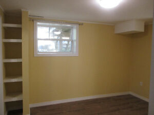 Bright newly renovated North End Basement Suite for November 1st