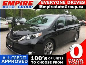 2012 TOYOTA SIENNA SE * 8 PASS * BACKUP CAMERA * MOONROOF * LOW