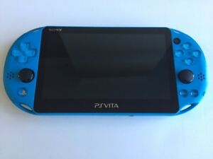 Console Sony Playstation PS Vita 2001 bleu / Blue PS Vita 2001