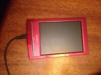 Sony E reader six-inch with leather case