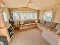 HUGE IMMACULATE 12FT CENTRAL HEATED 3 BEDROOM STATIC CARAVAN FOR SALE