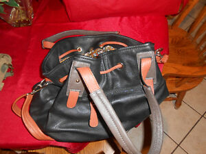 Black/brown Leather Italian