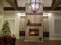 Kevin's Custom Stonework Masonry  (Fireplaces)
