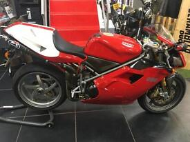 Ducati 996 SPS 2000 PRIVATE SPS PLATE INCLUDED. LOVELY LOW MILEAGE GENUINE BIKE