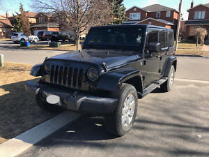 2014 Jeep Wrangler Sahara Unlimited - NAV, REMOTE START, 4X4 etc