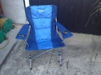 Two camping chairs