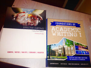 EFFECTIVE WRITING+FAW (01-151) 2 textbooks for the price of 1