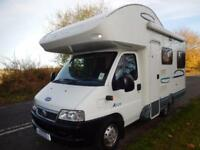 **Deposit Taken**Lunar Champ A520 4 Berth Rear Lounge Motorhome