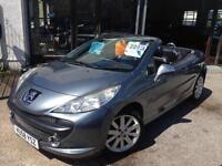 2008 (58) Peugeot 207 CC 1.6 16v 120 Coupe ELLE (Finance Available)