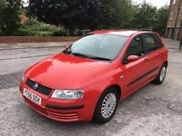 Fiat Stilo 1.9 JTD multi-jet turbo diesel 2005 55 Reg red 5 door fsh excellent condition Astra 307