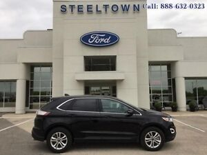 2016 Ford Edge SEL AWD LEATHER/MOONROOF/  - $234.52 B/W - Low Mi