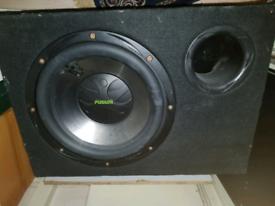 Massive speaker subwoofer