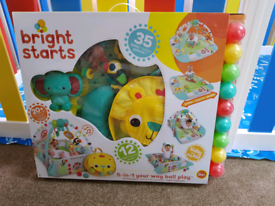 Bright Starts 5 in 1 Play Gym (Brand New)