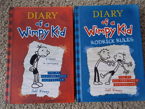 #1 and #2 Diary of a Wimpy Kid-Hard Cover-NEW! London Ontario image 1