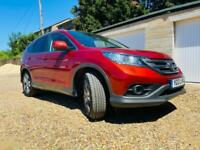 2013 red honda crv ex 2.2 diesel manual ideal family car cheap runner