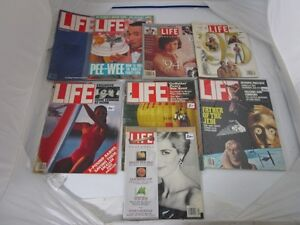 OLD LIFE MAGAZINES NEWSWEEK COLD WAR 1980'S REAGAN LADY DIANA West Island Greater Montréal image 5
