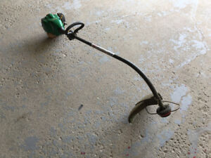 """WeedEater MAX 17"""" Gas Trimmer Works GREAT $65"""