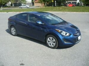 2015 Hyundai Elantra L Manual with A/C, Remote Starter, 6349kms!