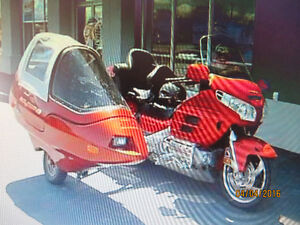 SIDE-CAR  FLEXIMUN  avec attache Harley et Goldwing