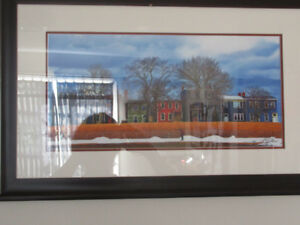 Halifax Scene Painitng ? Print? Professionally Framed A Gallant