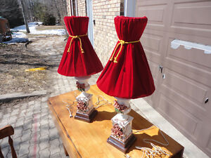 Pair of table lamps London Ontario image 2